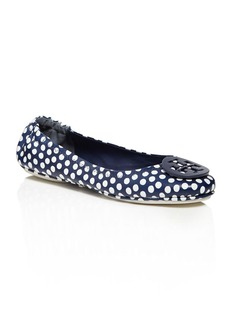 Tory Burch Minnie Polka Dot Travel Ballet Flats