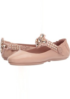 Tory Burch Minnie Two-Way Embellished Ballet