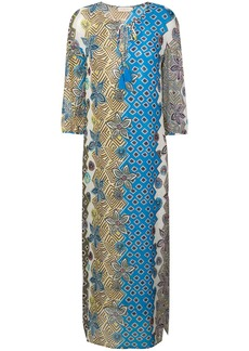 Tory Burch mixed print beach dress - Multicolour