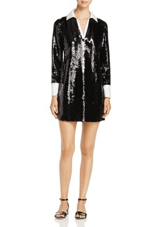 Tory Burch Monica Sequined Mini Dress