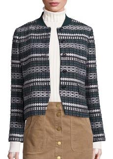 Tory Burch Norfolk Tweed Jacket