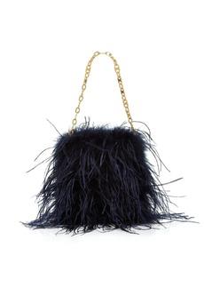 Tory Burch Ostrich Feather Mini Bag