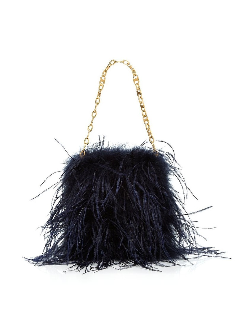 72b93d61a4c On Sale today! Tory Burch Tory Burch Ostrich Feather Mini Bag