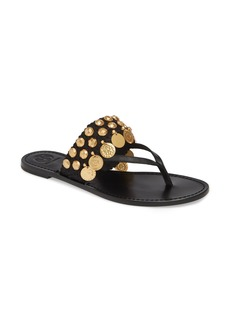 Tory Burch Patos Coin Thong Sandal (Women)