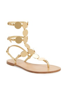 Tory Burch Patos Disk Gladiator Sandal (Women)