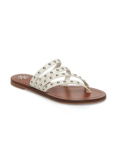 Tory Burch Patos Studded Thong Sandal (Women)
