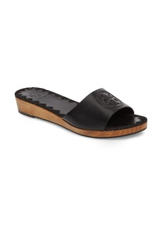 Tory Burch Patty Logo Slide Sandal (Women)