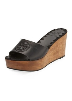 Tory Burch Patty Platform Wedge Slide Sandal