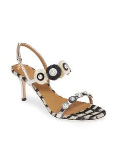 Tory Burch Penelope Embellished Slingback Sandal (Women)