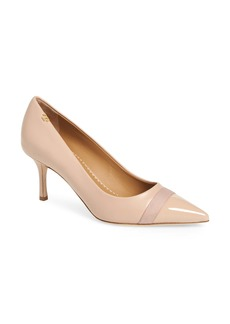 Tory Burch Penelope Mid Cap Toe Pump (Women)