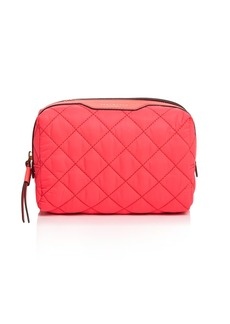Tory Burch Perry Quilted Nylon Cosmetics Case