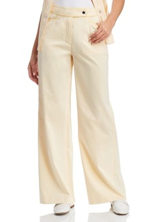 Tory Burch Piped Wide-Leg Pants