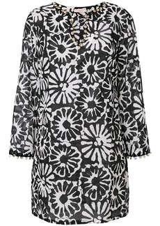 Tory Burch Pomelo floral beach tunic - Black
