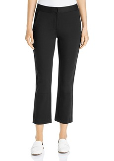 Tory Burch Ponte Kick-Flare Button-Accent Pants