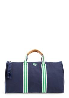 Tory Burch Preppy Canvas Duffel Bag