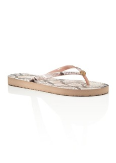 Tory Burch Printed Thin Flip-Flops