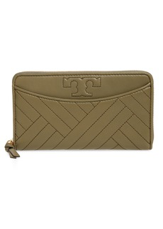 Tory Burch Quilted Lambskin Continental Wallet