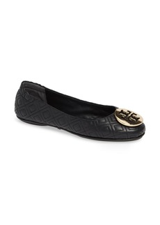Tory Burch Quilted Minnie Flat (Women)