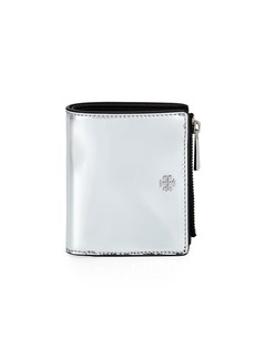Tory Burch Robinson Mini Mirror Metallic Wallet