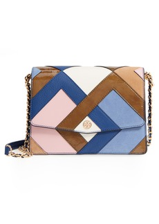 Tory Burch Robinson Pieced Shoulder Bag