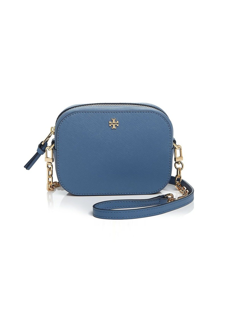 f99ca6879663f Tory Burch Tory Burch Robinson Round Saffiano Leather Crossbody ...