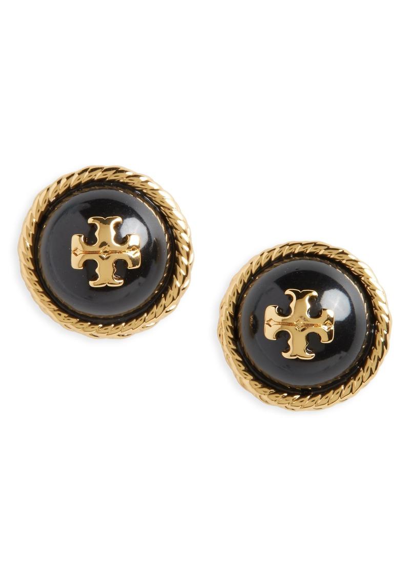Tory Burch Rope Stud Earrings