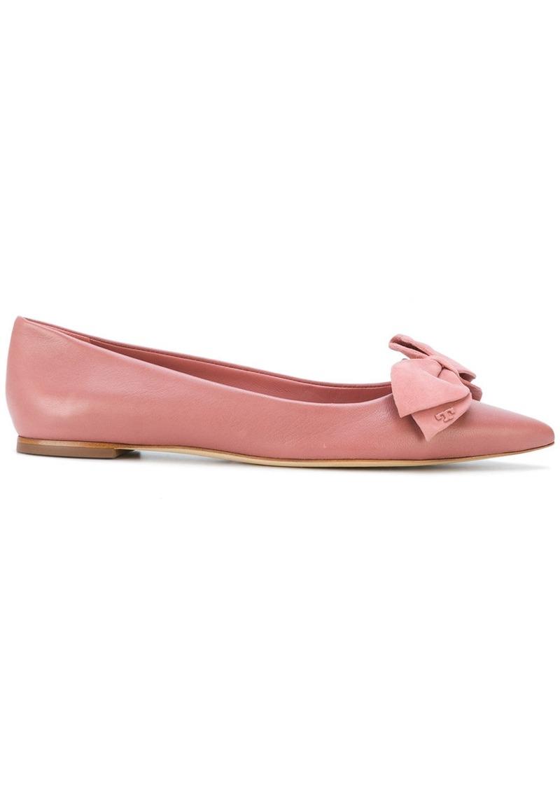 9dca4ddb59c5e7 Tory Burch Tory Burch Rosalind ballet flats - Pink   Purple