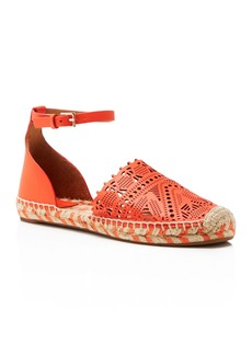 Tory Burch Roselle Ankle Strap Espadrille Flats