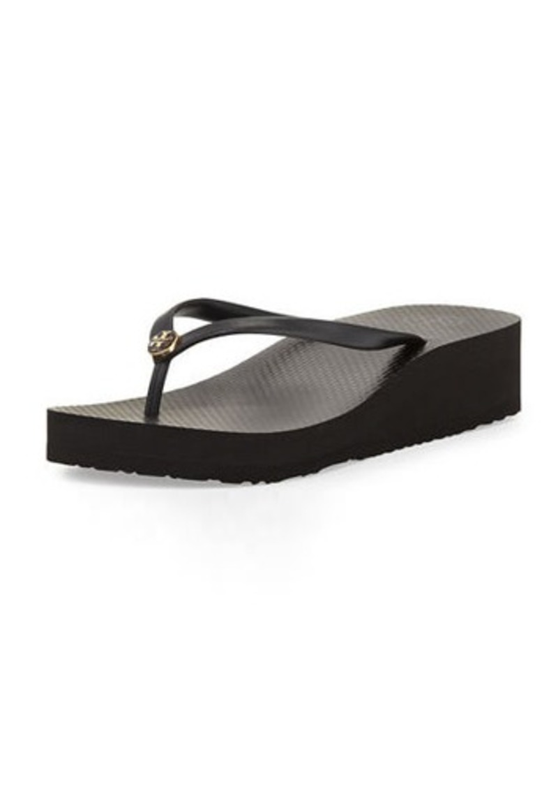 085283cd06c3 Tory Burch Tory Burch Rubber Wedge Flip-Flop