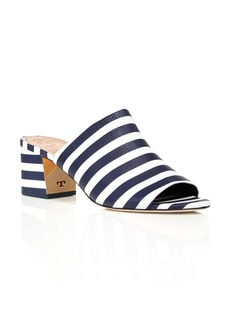 Tory Burch Salinas Striped Slide Block Heel Sandals - 100% Exclusive