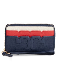 Tory Burch Scallop Leather Smartphone Wallet