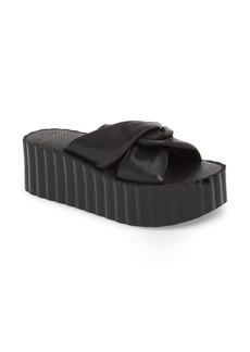 Tory Burch Scallop Platform Slide Sandal (Women)