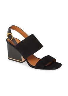 Tory Burch Selby Block Heel Sandal (Women)