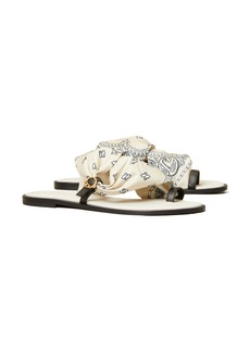 Tory Burch Selby Scarf Sandal (Women)