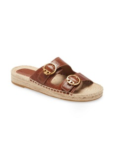 Tory Burch Selby Two-Band Espadrille Slide Sandal (Women)