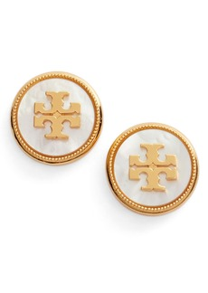 Tory Burch Semiprecious Stone Stud Earrings