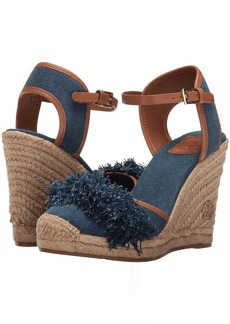 Tory Burch Shaw 90mm Denim Espadrille
