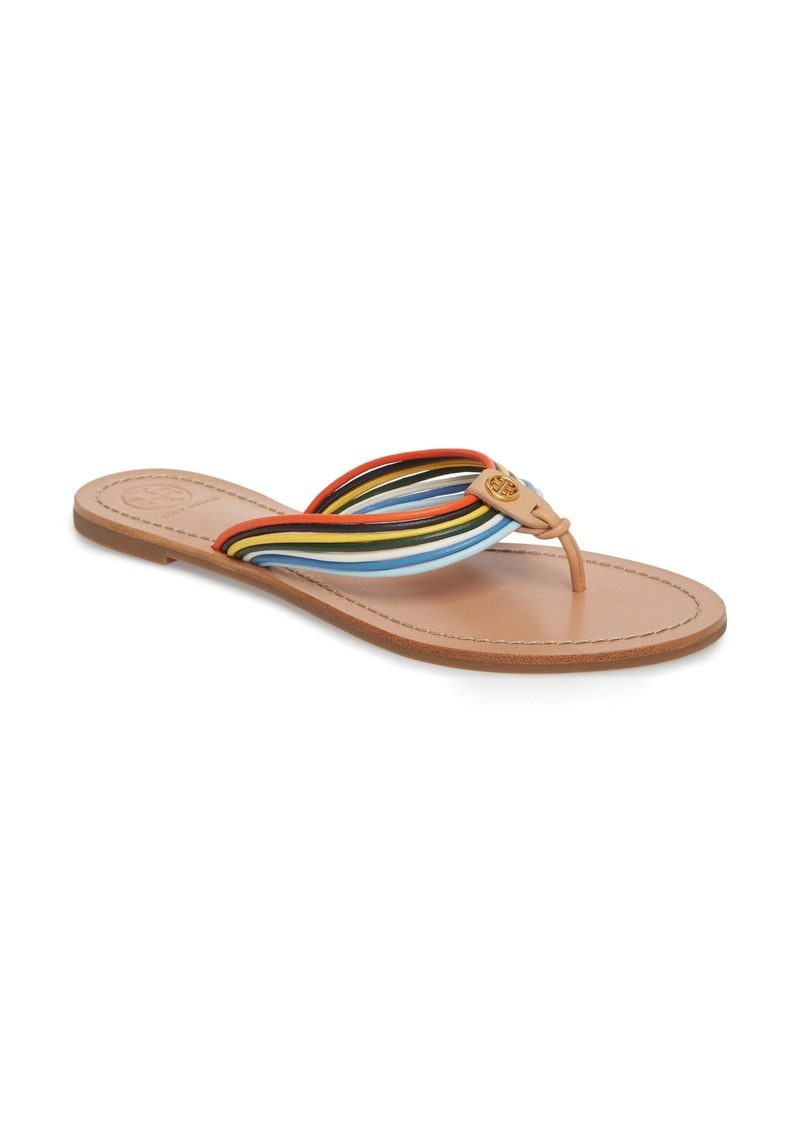 f6295bb20504 Tory Burch Tory Burch Sienna Strappy Thong Sandal (Women)