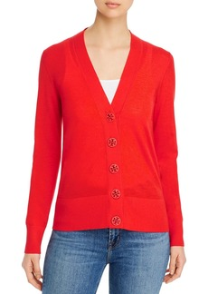 Tory Burch Simone V-Neck Cardigan