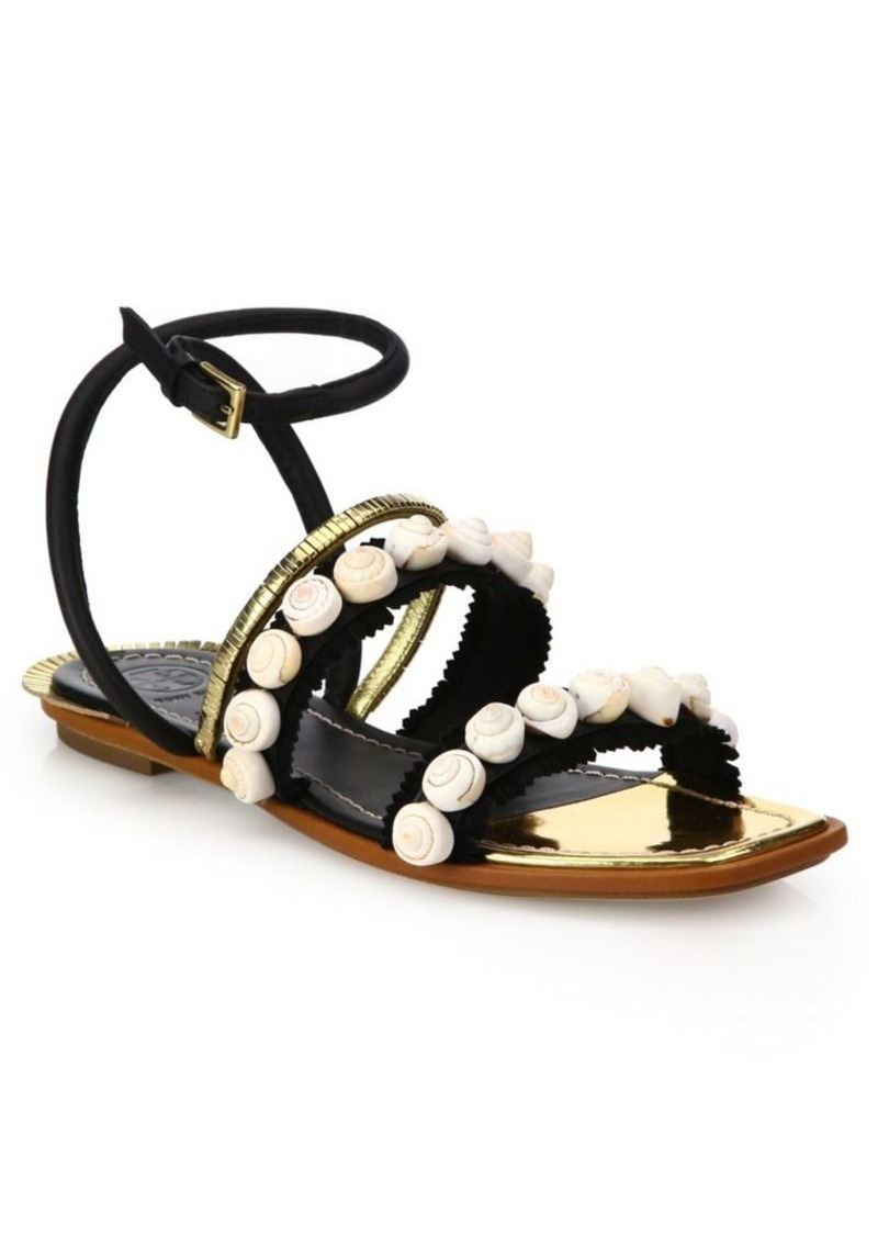 794e22fd88abc4 Tory Burch Tory Burch Sinclair Embellished Leather Sandals