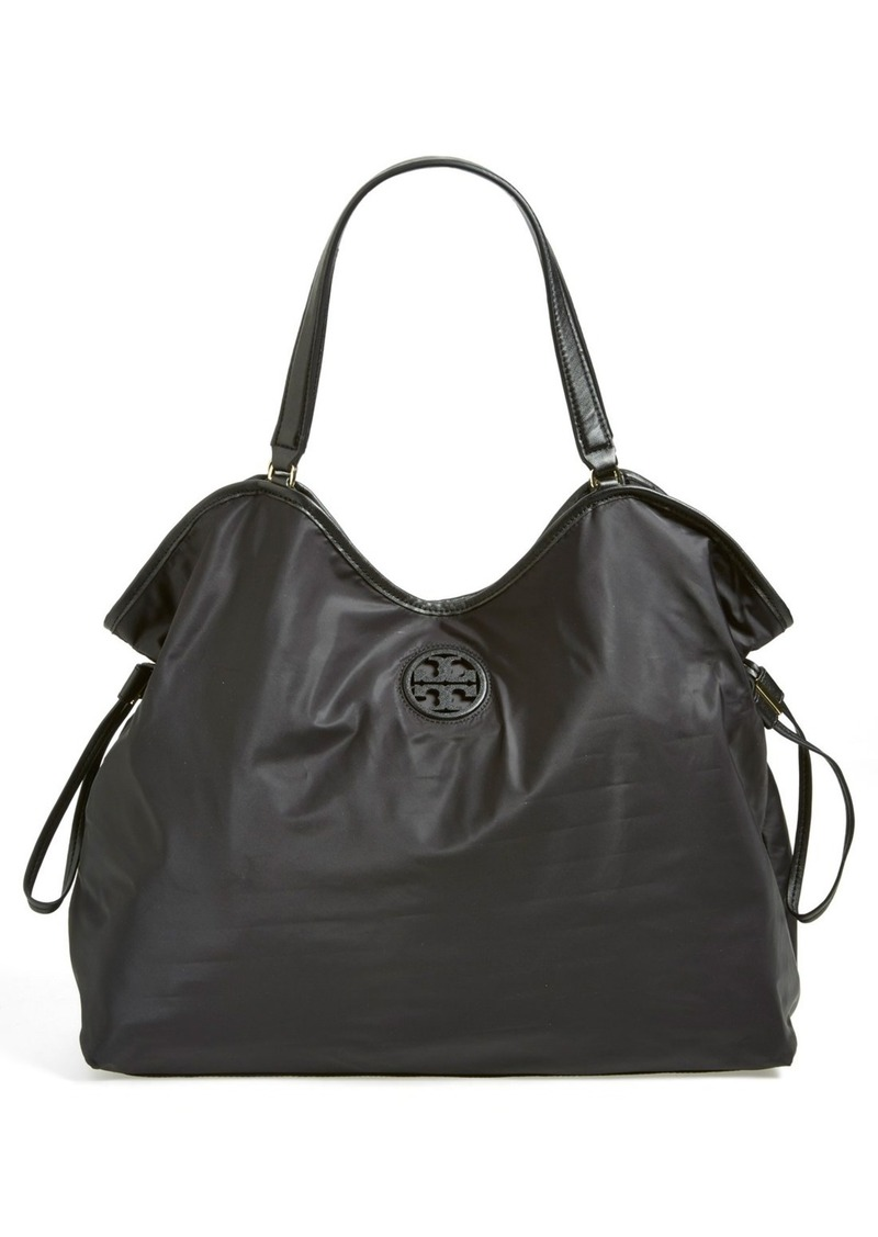 tory burch tory burch slouchy nylon tote handbags shop it to me. Black Bedroom Furniture Sets. Home Design Ideas