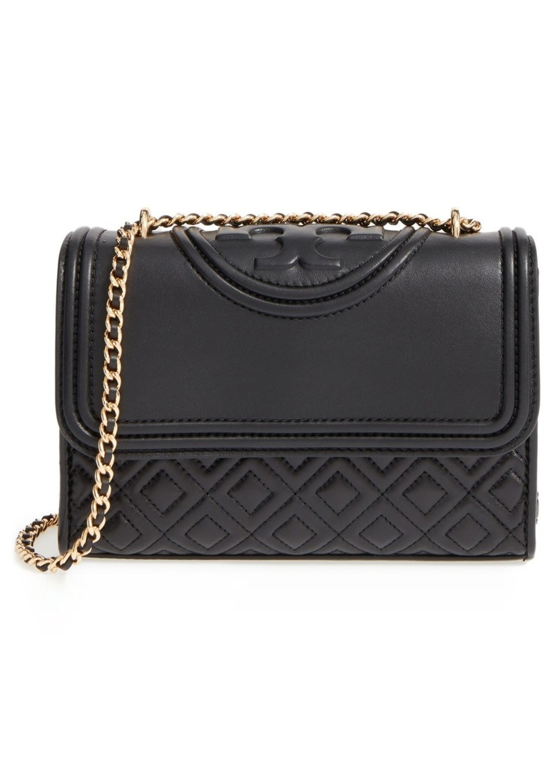 a2356bd4aa9d Tory Burch Tory Burch  Small Fleming  Quilted Leather Shoulder Bag ...