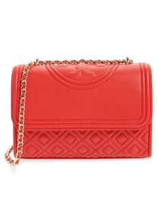 Tory Burch 'Small Fleming' Quilted Leather Shoulder Bag