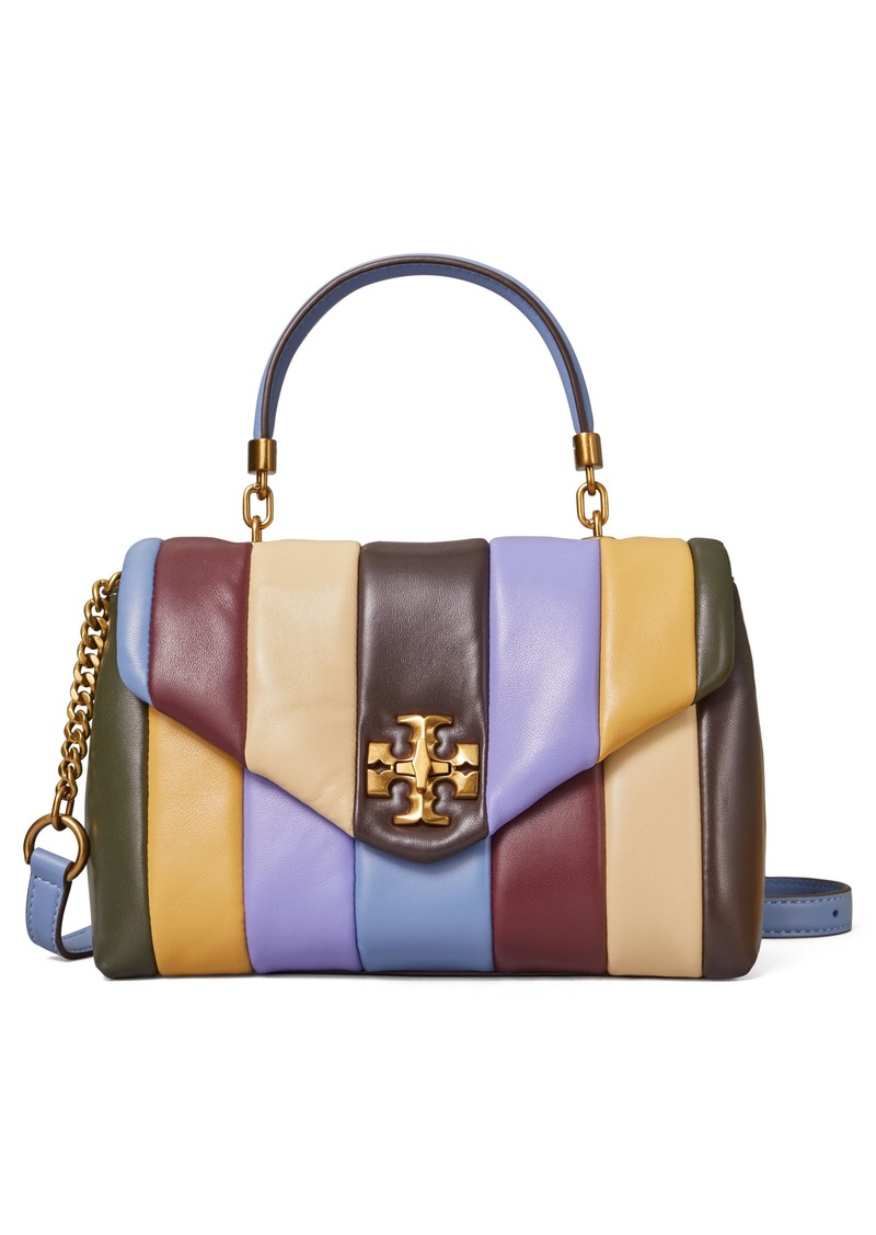 Tory Burch Small Kira Top Handle Leather Satchel in Multi at Nordstrom