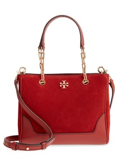 Tory Burch Small Marsden Suede & Leather Tote