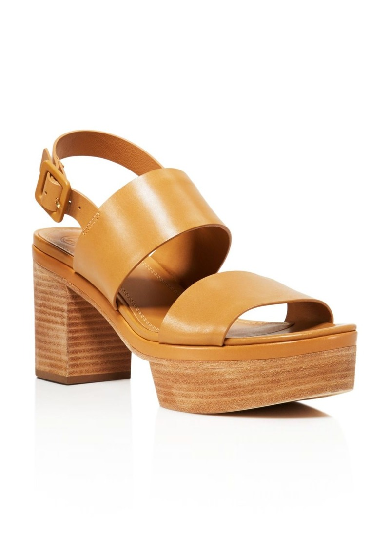 e1b4dfc4250 Tory Burch Tory Burch Solana Platform Sandals