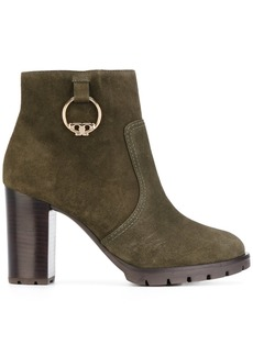 Tory Burch Sophie lug sole bootie - Green