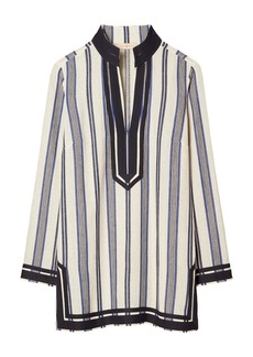 Tory Burch Stripe Beach Tunic