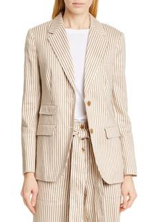 Tory Burch Stripe Blazer