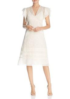 Tory Burch Susanna Daisy-Print Flutter Dress